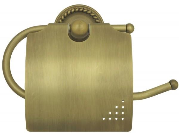 Toilettenpapierhalter Retro Klorollenhalter Antik Nostalgie 9006