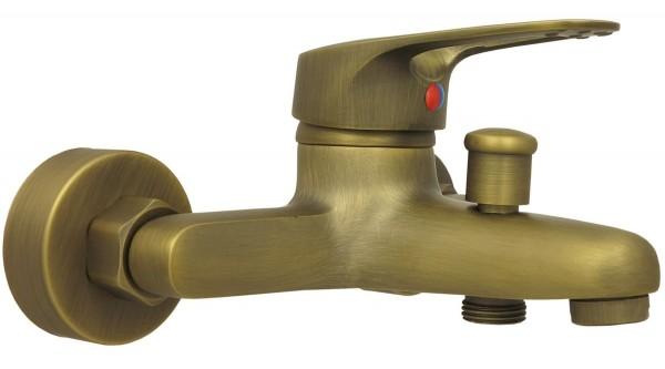 Retro Mischbatterie Badewanne Badewannenarmatur Einhebelmischer Antik 012-3