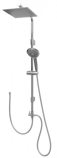 Brausegarnitur Regenbrause Set ohne Armatur variabele Wandhalter 12003-25x25
