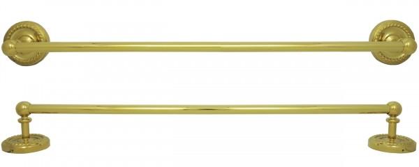 Handtuchstange Handtuch Stange Handtuchhalter 52,5cm lang Gold 9009
