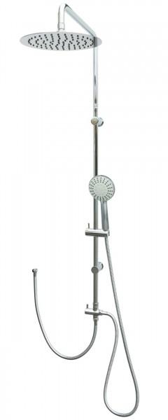 Duschset Regendusche Edelstahl Duschsystem Dusche Duschgarnitur Chrom 306
