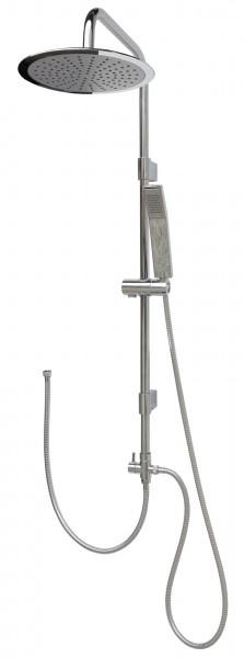 Duschset Duschgarnitur Brausegarnitur variabele Halter 2525 Phone-25cm rund