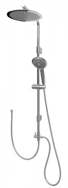 Brausesystem ohne Mischer Duschsystem mit großer runder Regenbrause 12003-25
