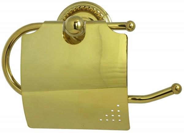 Toilettenpapierhalter Gold Klorollenhalter Nostalgie WC Rollenhalter 9006