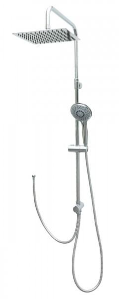 Duschgarnitur Duschset Dusche Brausegarnitur Regenbrausekopf Chrom MSF25
