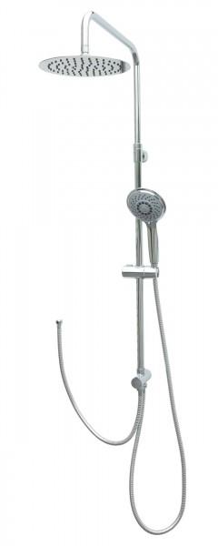Duschgarnitur Duschset Dusche Brausegarnitur Regenbrausekopf Chrom MSR10