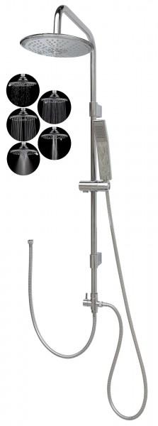 Duschset Duschgarnitur Brausegarnitur variabele Halter 2525-R5