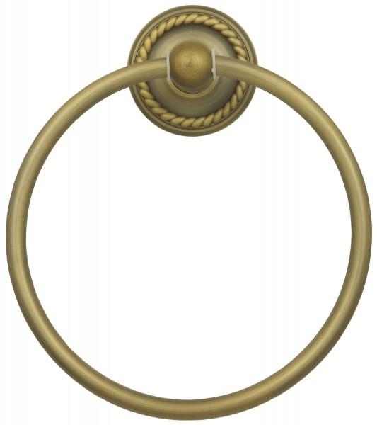 Retro Handtuch Handtuchring Wandhalter Handtuch Ring Halter in Antik 9007