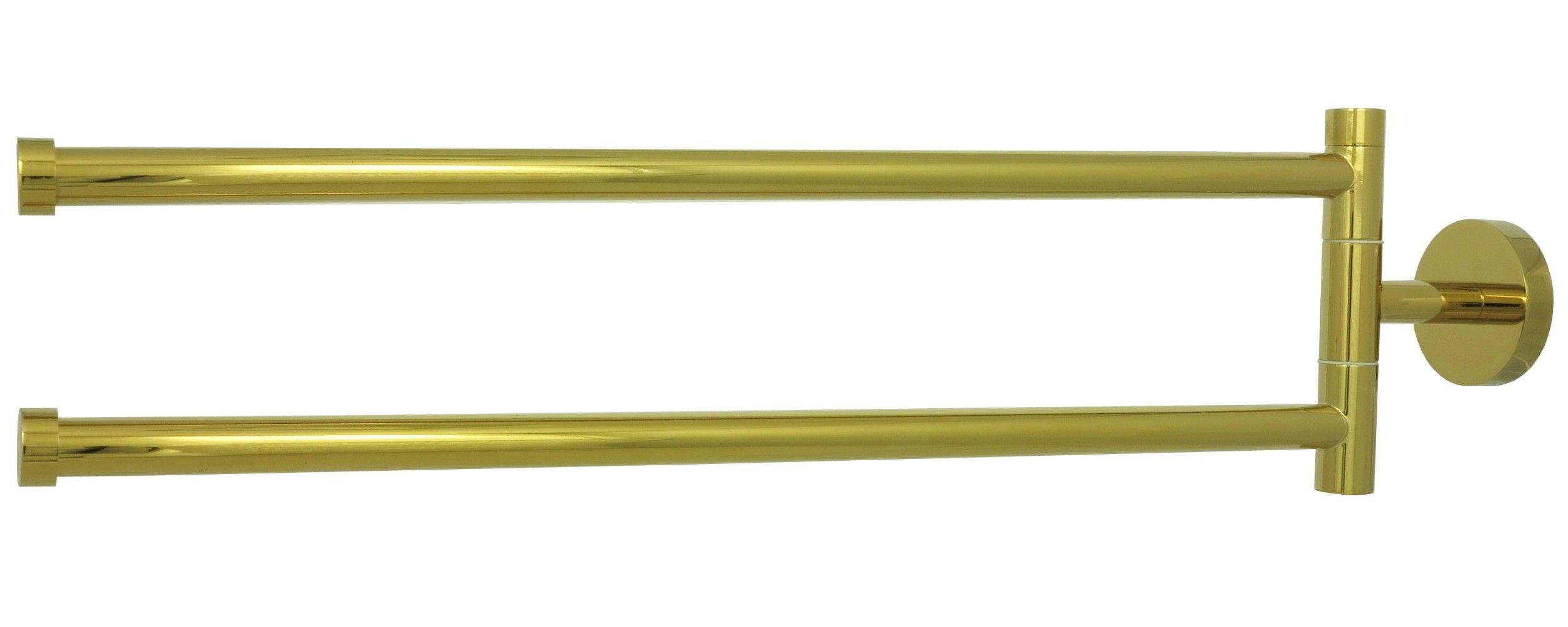 retro 2 fach handtuchhalter handtuchstange wand stangen halter gold a6001 badarmaturen. Black Bedroom Furniture Sets. Home Design Ideas