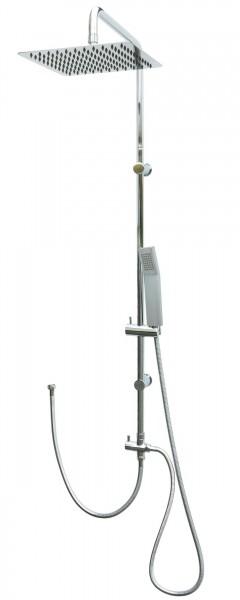Duschset Regendusche Edelstahl Duschsystem Dusche Duschgarnitur Chrom 304
