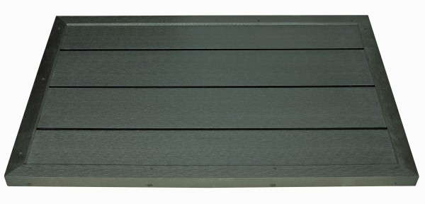 Bodenelement für Solarduschen Bodenplatte Gartendusche Pool BP100x60